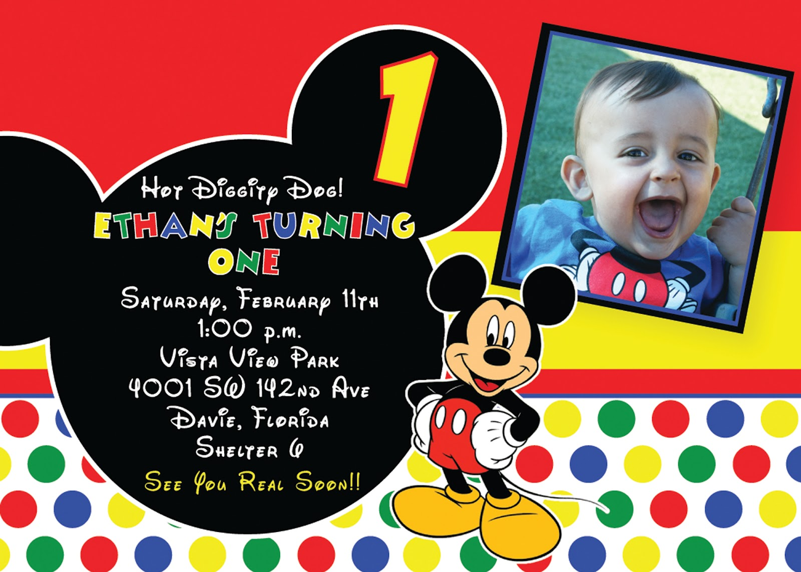 birthday invitation mickey mouse theme ; 306003ac0db94034cc018bdbaed1700e