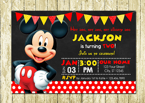 birthday invitation mickey mouse theme ; 31e4285ed3bec12e1d9c70458e3d5623