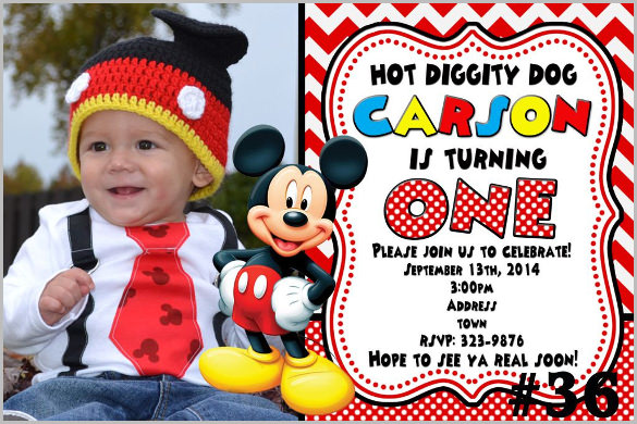 birthday invitation mickey mouse theme ; Mickey-Mouse-Invitation-Photo-You-Print-Printable-