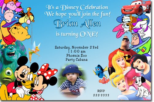 birthday invitation mickey mouse theme ; mickey%2520mouse%2520gang%2520blue