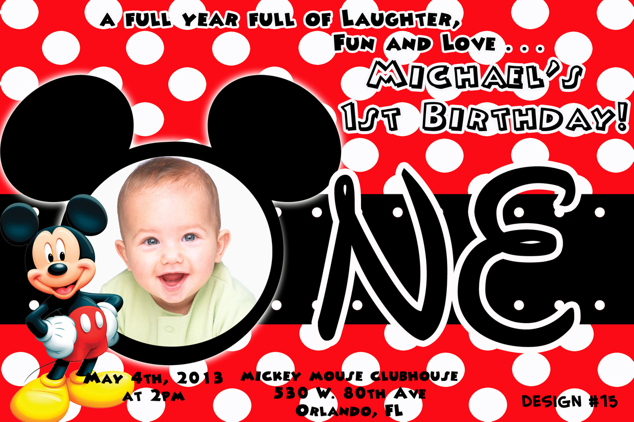 birthday invitation mickey mouse theme ; mickey-mouse-1st-birthday-invitations-to-bring-your-dream-design-into-your-Birthday-invitation-14