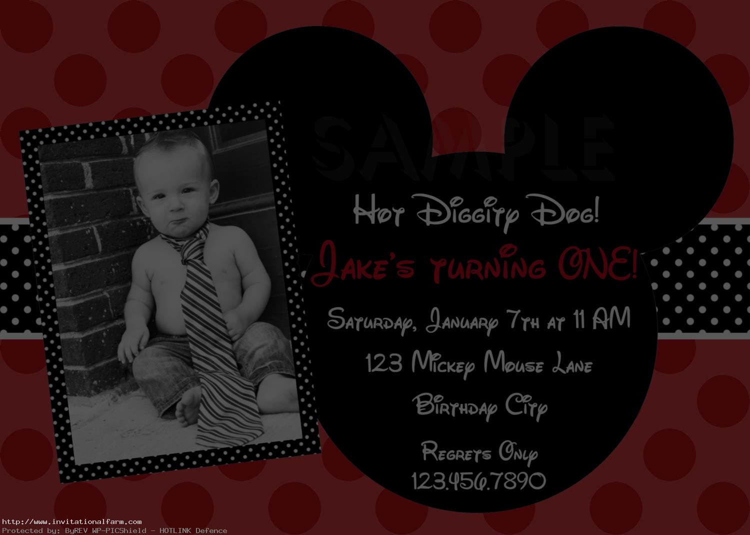birthday invitation mickey mouse theme ; mickey-mouse-birthday-invitations-Template