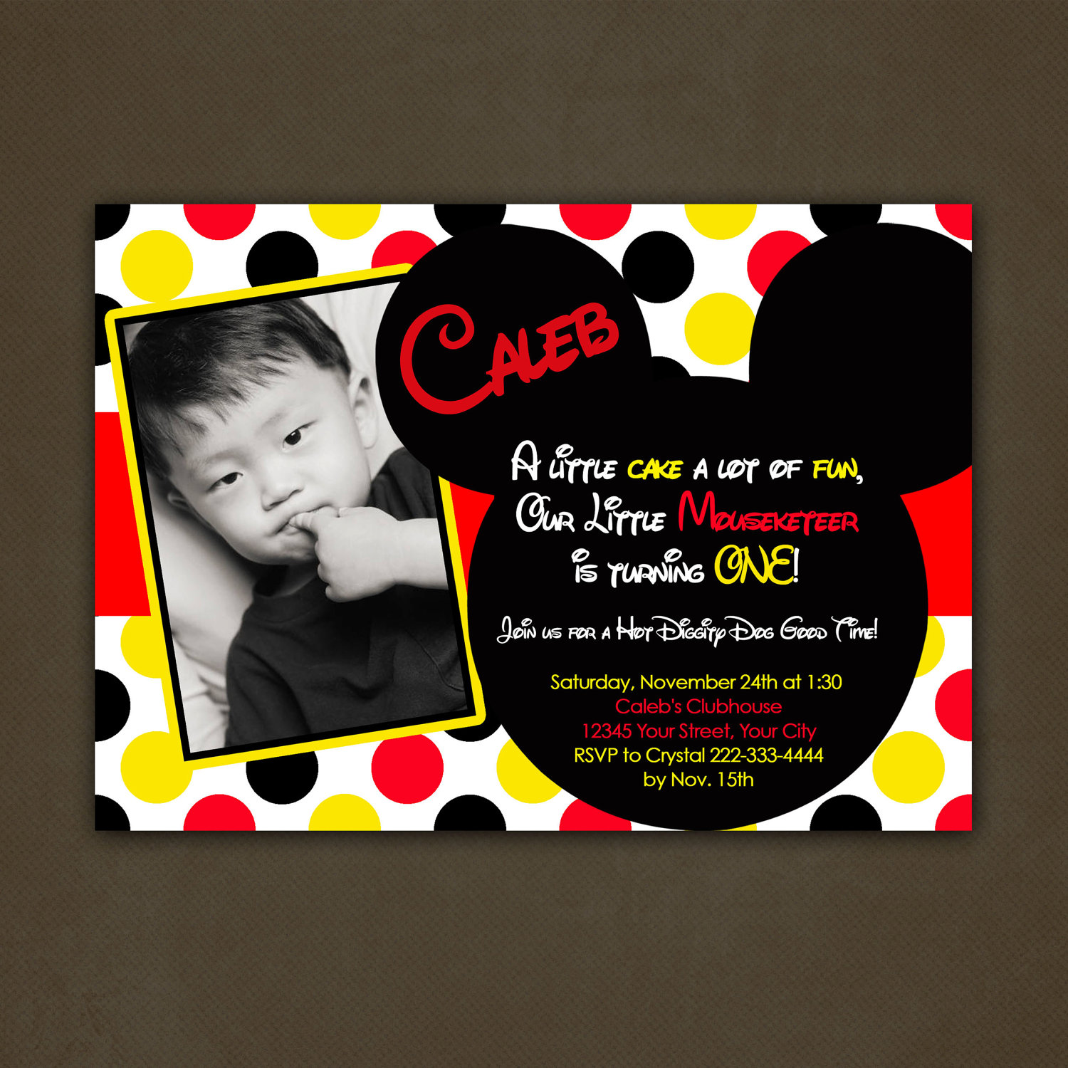 birthday invitation mickey mouse theme ; mickey-mouse-birthday-party-invitations-to-create-a-elegant-Party-invitation-design-with-elegant-appearance-1