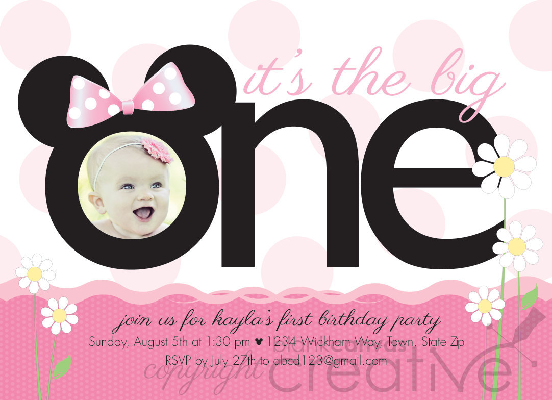 birthday invitation minnie mouse theme ; ab1f90101854a6fc0b4ea619028c638c