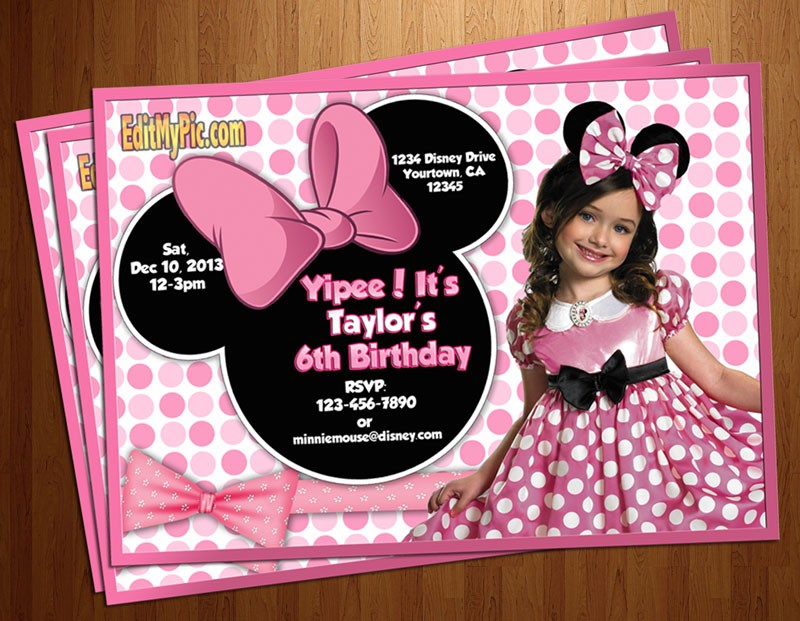 birthday invitation minnie mouse theme ; minnie_mouse_ad