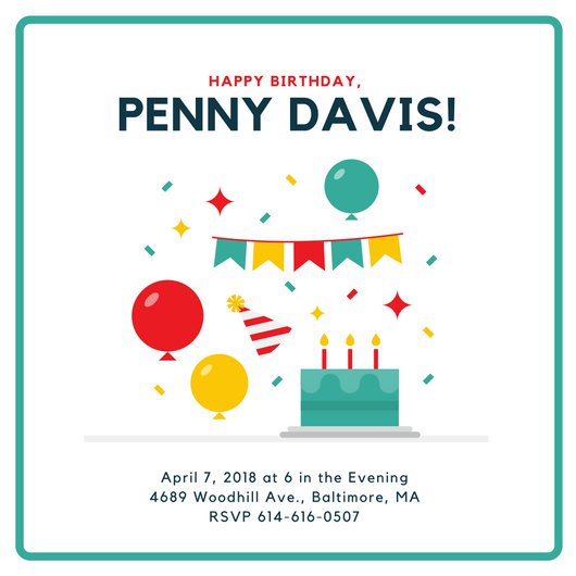 birthday invitation pictures images ; canva-minimalist-birthday-invitation-MAB4A8L_VdQ