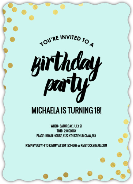 birthday invitation pictures images ; golden-foil-confetti-tween-birthday-party-invitation_23309_1_large_wavy