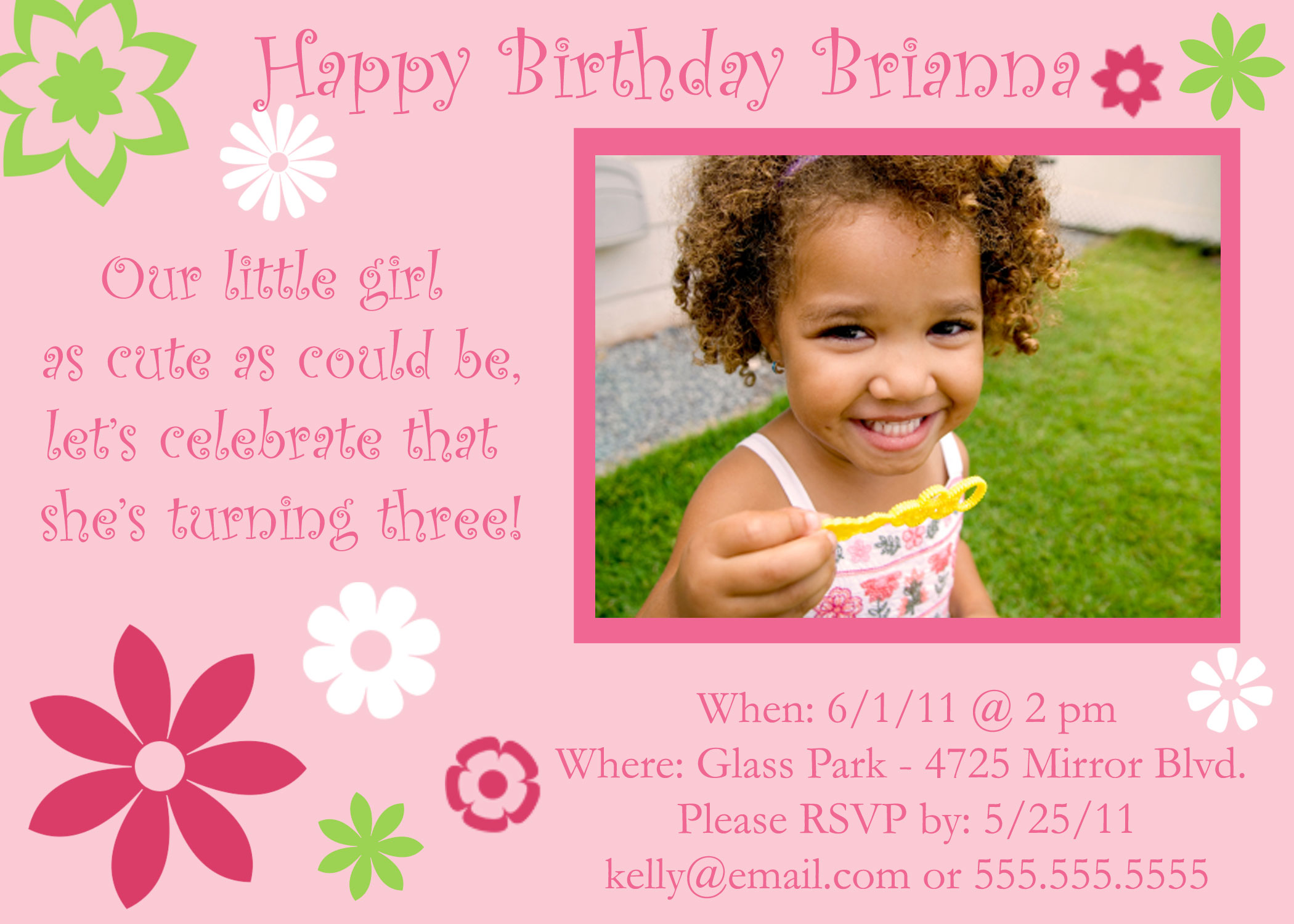 birthday invitation quotes for 3 year old ; Birthday-Invitation-Wordings-For-1-Year-Old-and-get-inspiration-to-create-the-birthday-Invitation-design-of-your-dreams-3