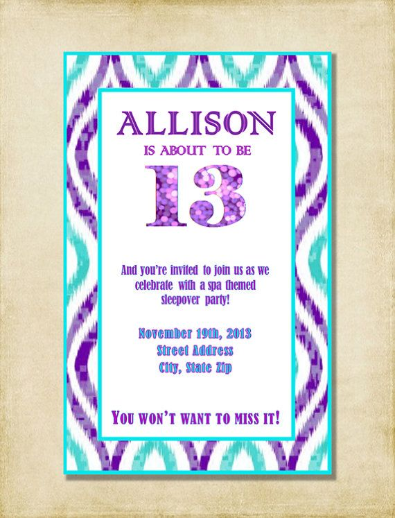 birthday invitation quotes for daughter ; 784e70fb6b43c5d772a8a41e1d97ed74--th-birthday-parties-th-birthday