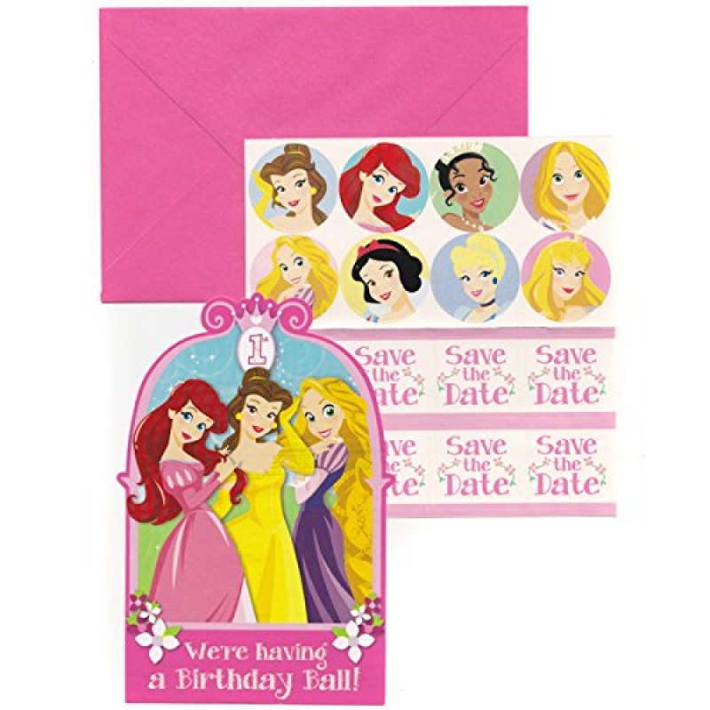 birthday invitation stickers ; princess-1st-birthday-party-supplies-table-cover-cups-napkins-plates-treat-bags-invitations-stickers-swirl-decorations-centerpiece-ribbon-1-800x800