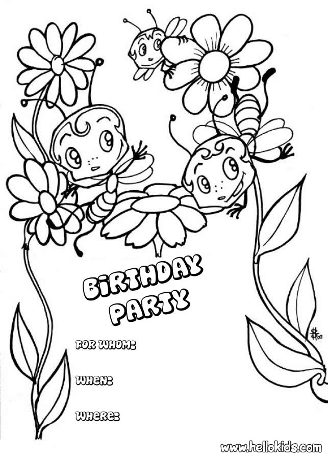 birthday invitations coloring pages ; Birthday_Card_Coloring_Page_3