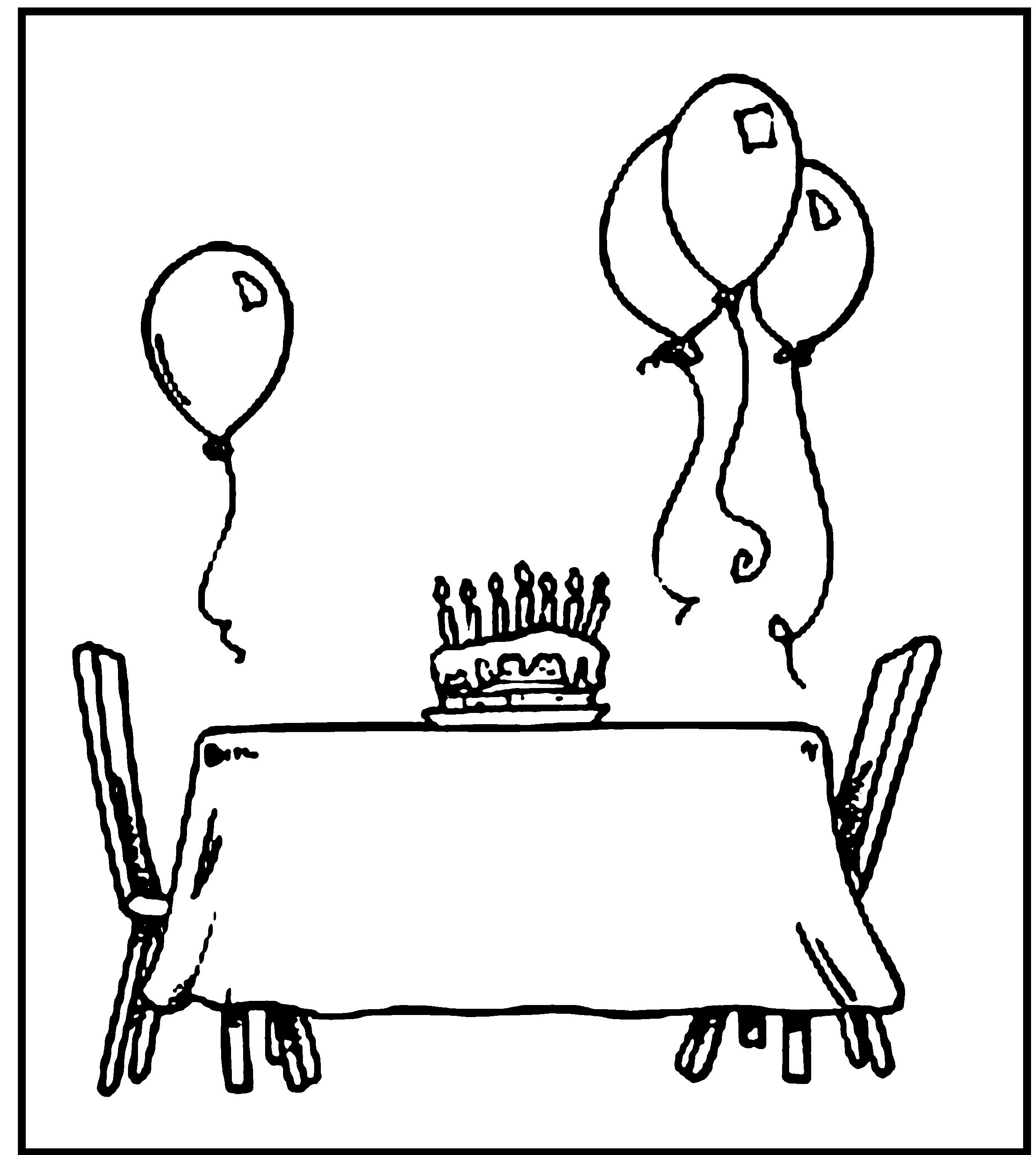 birthday invitations coloring pages ; Happy-Birthday-Coloring-Pages-To-Print