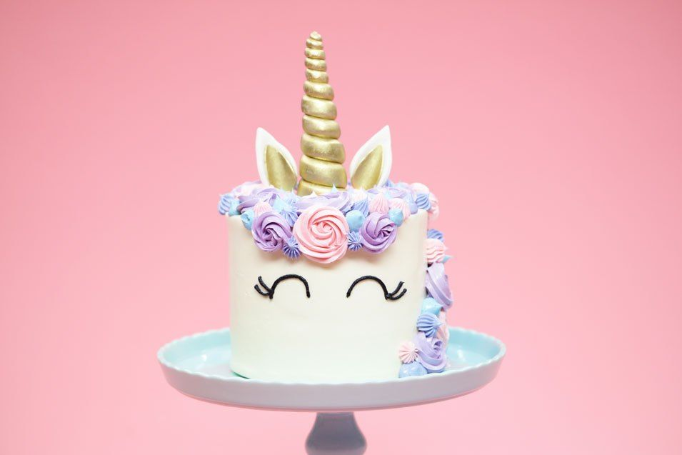 birthday ke wallpaper ; stylish-unicorn-birthday-cake-wallpaper-elegant-unicorn-birthday-cake-dcor