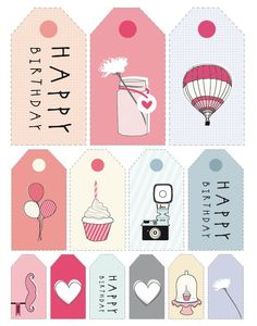 birthday labels free ; 0dcb7130ff8f7810ad4d441d9992c1ee