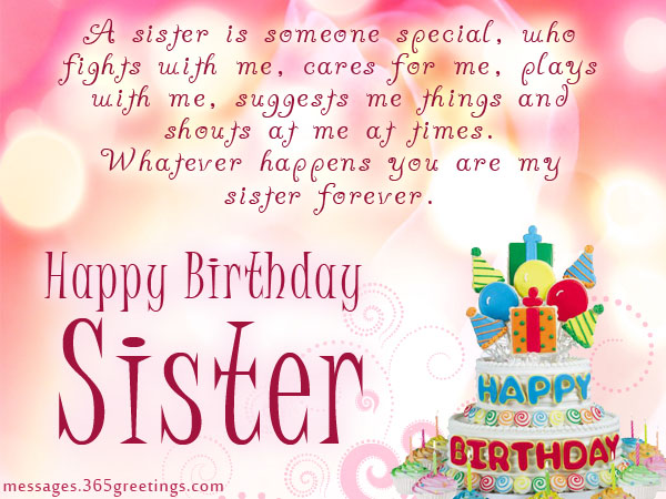 birthday message for sister with picture ; 25-best-birthday-wishes-quotes-for-sister-21