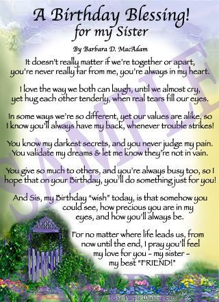 birthday message for sister with picture ; 9100b3d1d181a1b5b0d4015444941510--poems-for-sisters-sister-poems
