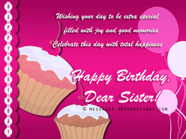 birthday message for sister with picture ; happy-birthday-wishes-for-sister-2
