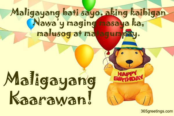 birthday message quotes tagalog ; birthday_8