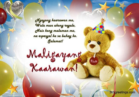 birthday message quotes tagalog ; happy-birthday-tagalog