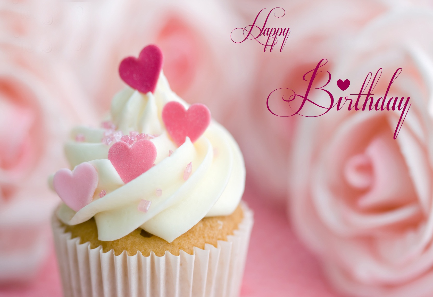 birthday message wallpaper ; happy-birthday-cupcakes-with-heart-topings-jpg