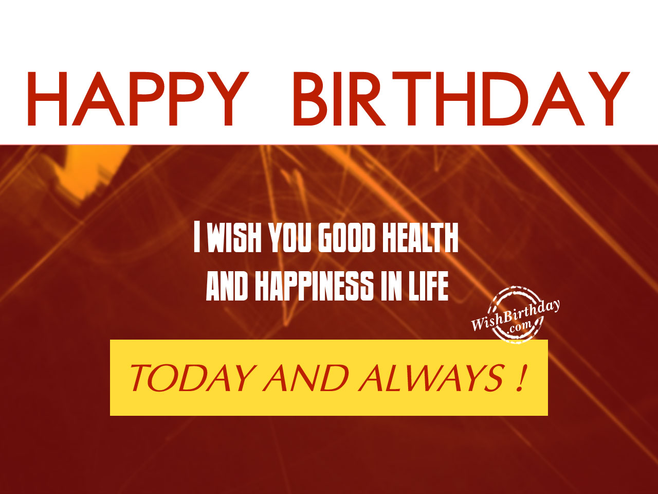 birthday message wishing good health ; I-wish-you-good-healthHappy-Birthday-WB01