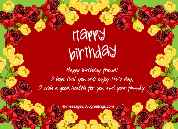 birthday message wishing good health ; birthday-wishes-for-friend-03
