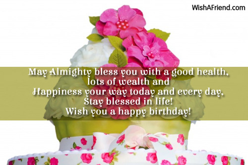 birthday message wishing good health ; fe58a877177b6a5132a05dc307418524