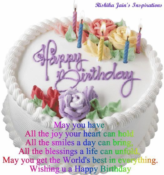 birthday message with cake picture ; Nice-Message-Happy-Birthday-Wishes-With-Cake-2