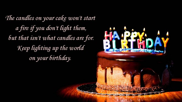 birthday message with cake picture ; birthday-wishes-and-messages