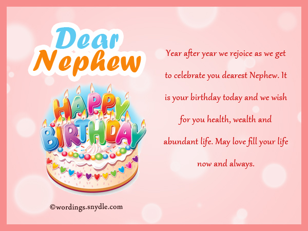birthday messages and birthday wishes ; birthday-messages-for-nephew