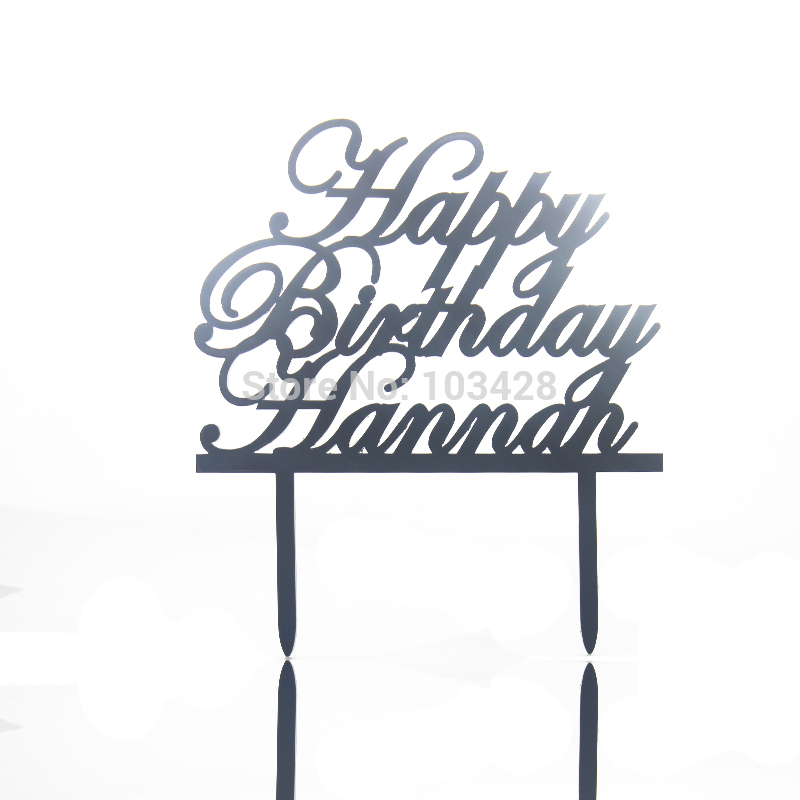 birthday name signs ; Personalized-Happy-Birthday-Name-Cake-Topper-Acrylic-Initial-Cake-Topper-19-Colors-Birthday-Cake-Banner-5
