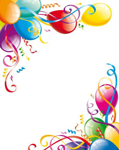 birthday page borders for microsoft word ; clipart-party-borders-11