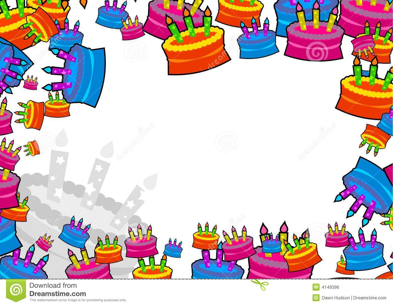 birthday page borders free ; frame-clipart-cake-11