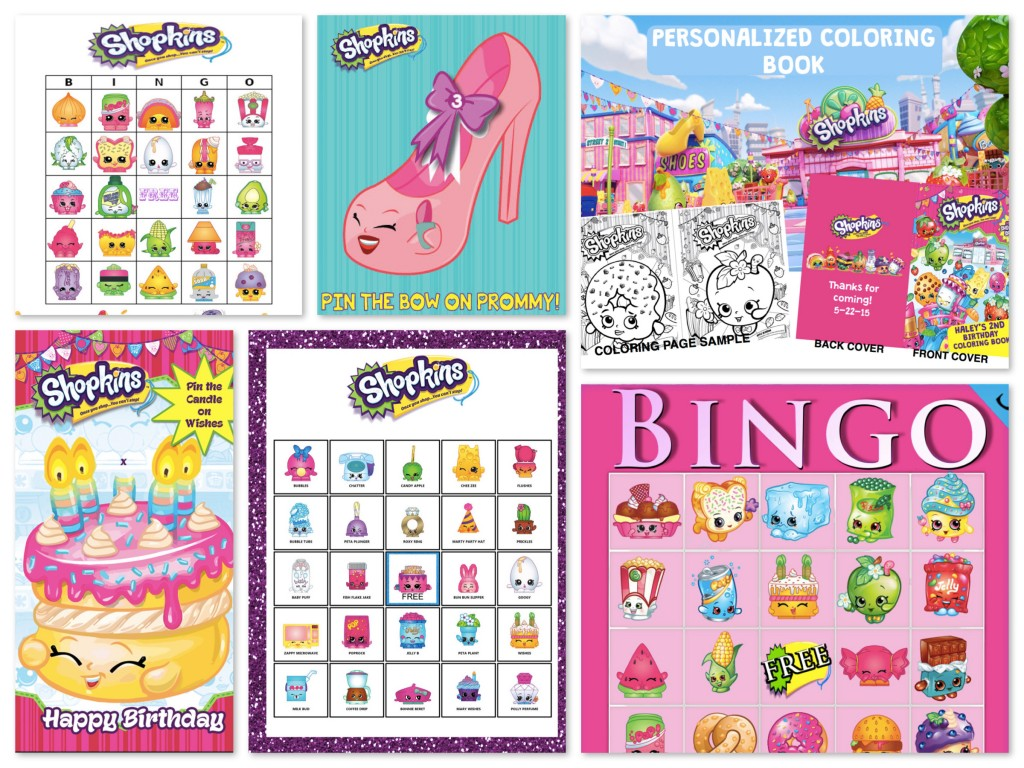 birthday party activities ; Printable-Shopkins-Party-Games-Activities-1024x768