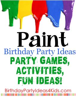 birthday party activities for 6 year olds ; d782c5d892aec0633135542b0dc1a7ad--art-birthday-birthday-party-themes