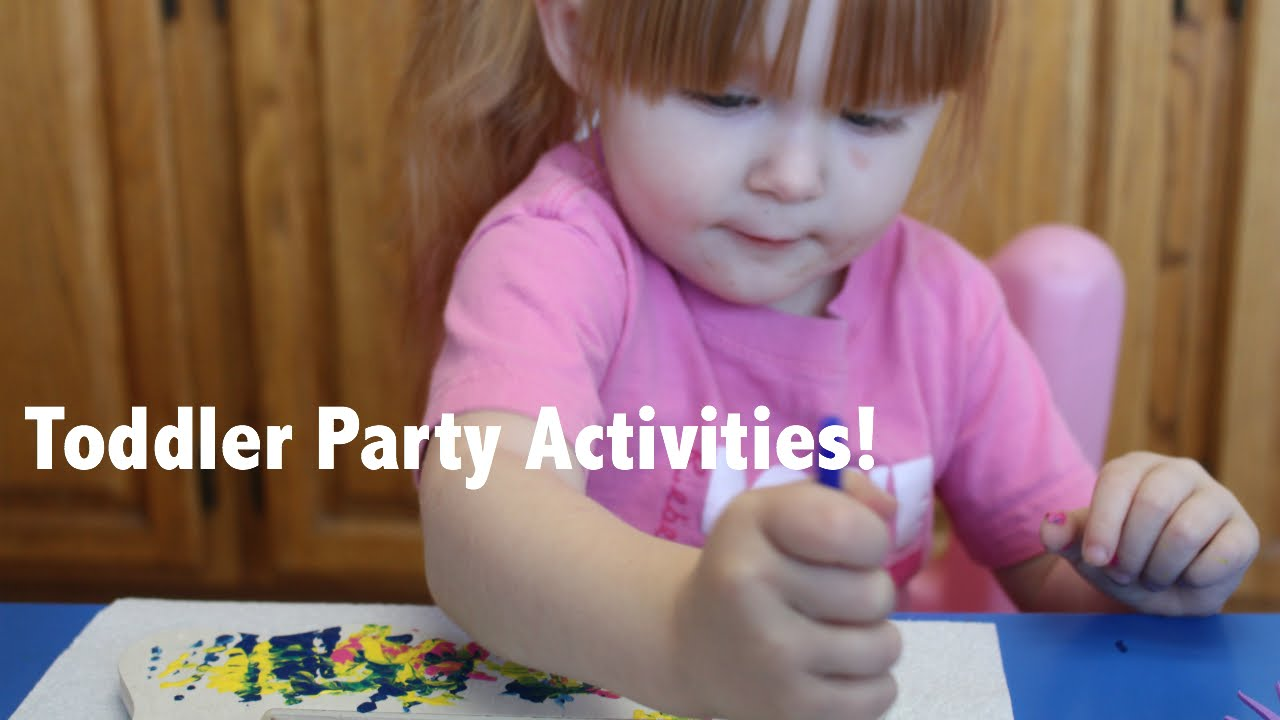 birthday party activities for toddlers ; maxresdefault