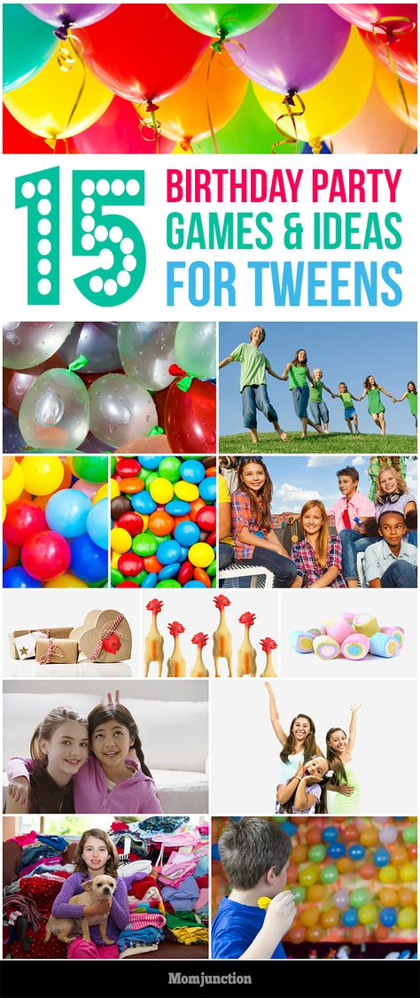 birthday party activities for tweens ; 484f6c1867927d7ee9734e6f4e6b72b1