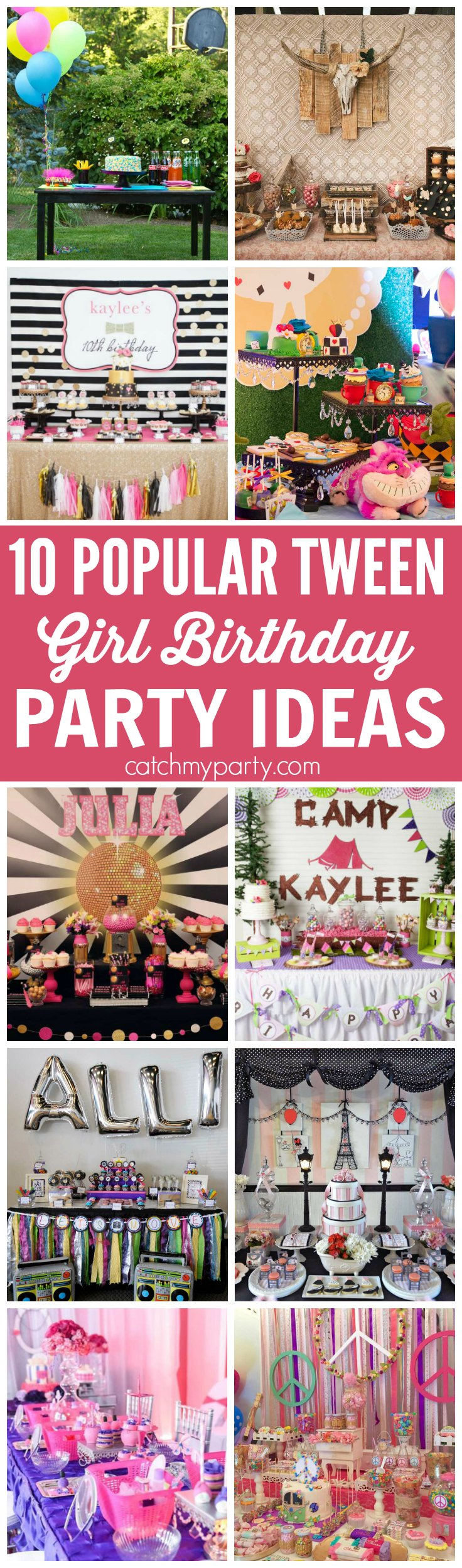 birthday party activities for tweens ; Tween-Girl-Birthday-Party-Ideas