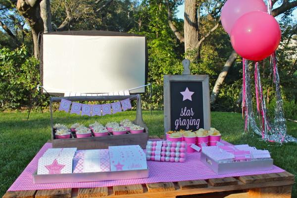 birthday party activities for tweens ; Under-the-stars-tween-party