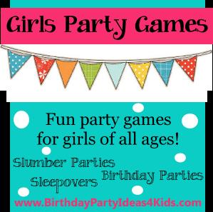 birthday party activities for tweens ; girlspartygamespic14