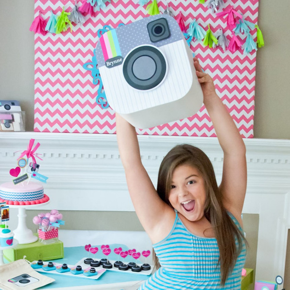 birthday party activities for tweens ; instagram-birthday-party-3-950x9501