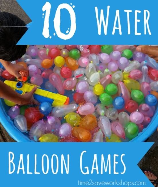 birthday party activities for tweens ; water-balloon-games-551x650