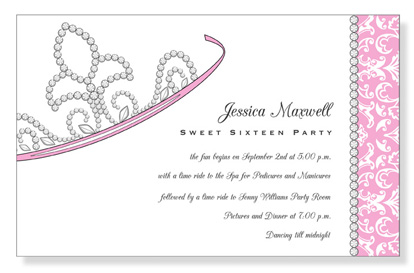 birthday party borders for invitations ; 10926