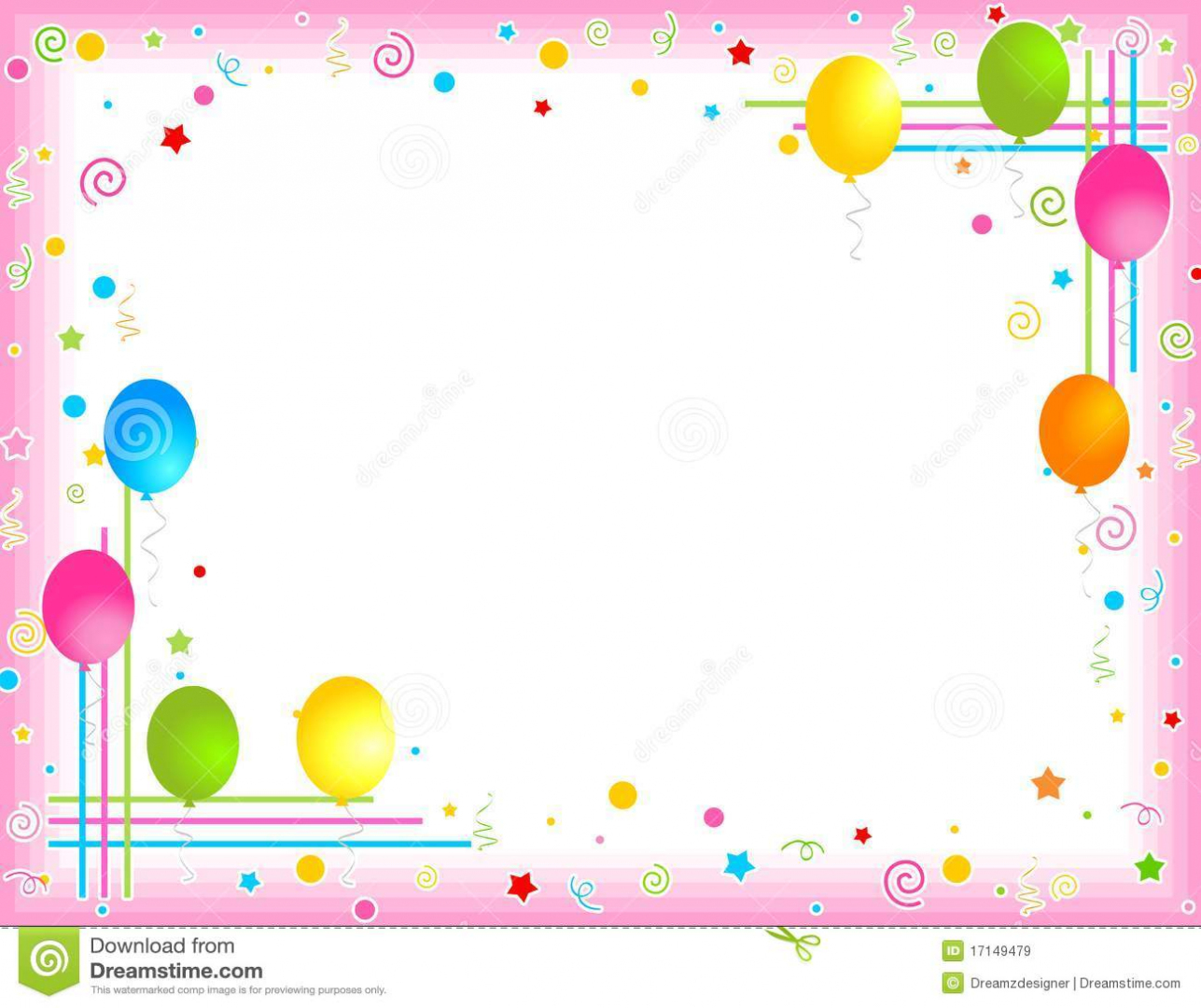 birthday party borders for invitations ; party-clipart-and-borders-clipart-collection-a-border-of-borders-for-birthday-invitations