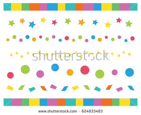 birthday party borders for invitations ; stock-vector-birthday-party-decorative-borders-invitation-card-dots-spots-confetti-and-stars-624833483
