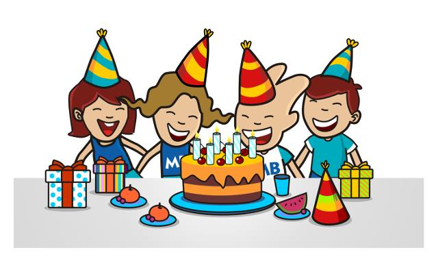birthday party clipart ; birthday-party-clipart-gymnastics-clipart-birthday-party-pencil-and-in-color-gymnastics-science-clipart