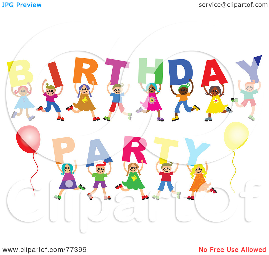 birthday party clipart free ; birthday-clipart-free-party-3