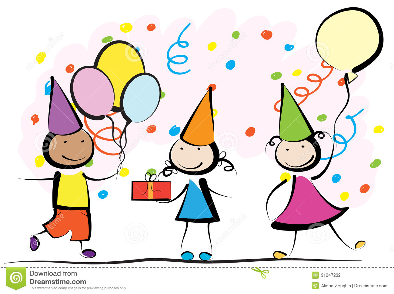 birthday party clipart free ; free-party-clipart-2