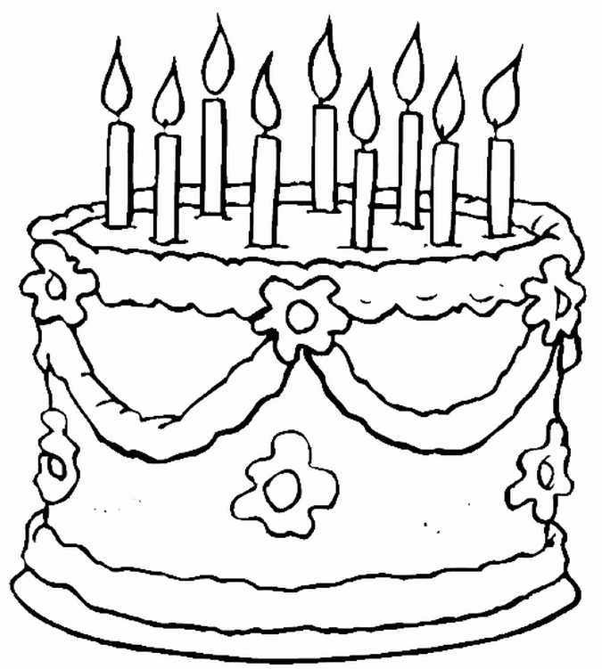 birthday party coloring pages ; 936f19b19d57c587bd7f05fa4942e2da