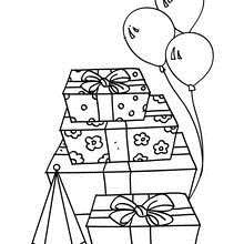 birthday party coloring pages ; birthday-gift-realistic-01-t6f_f5u
